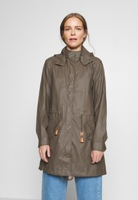 Soyaconcept - SC-ALEXA 1 - Waterproof jacket - dark army - 0