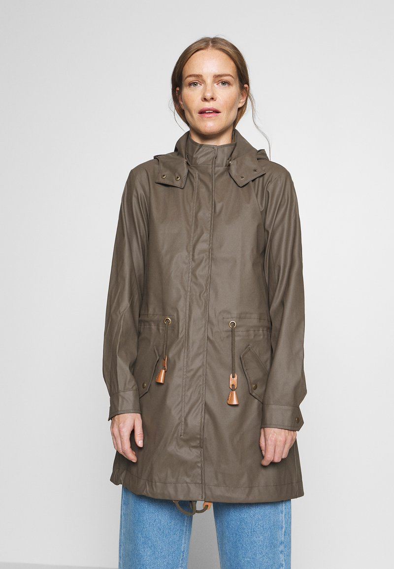 Soyaconcept - SC-ALEXA 1 - Waterproof jacket - dark army