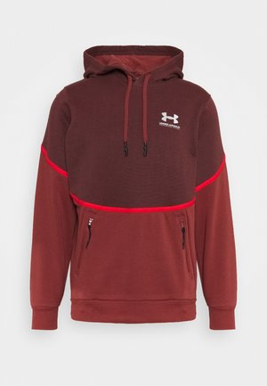 RIVAL - Sweat à capuche - cinna red