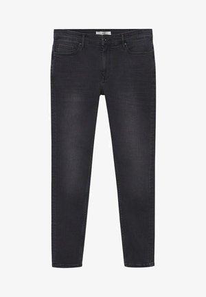 SKINNY  - Jean slim - open grey