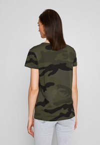 G-Star - ALLOVER TOP - T-shirt print - green - 2