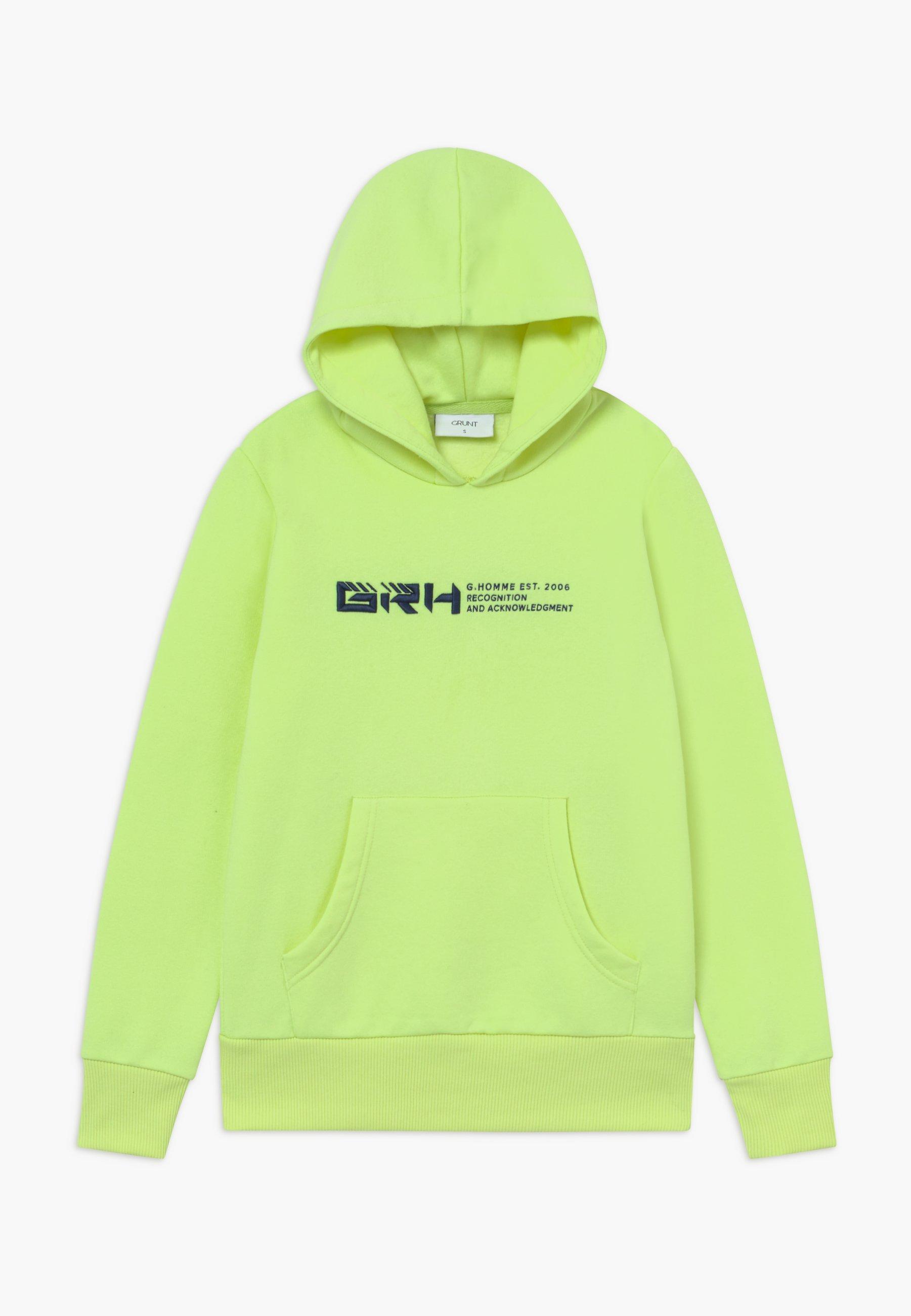 Große Förderung Grunt LEOPOLD - Kapuzenpullover - neon green | Damenbekleidung 2020