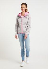Schmuddelwedda - Light jacket - hellgrau mel pink - 1