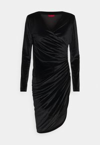 HUGO - NELVETY - Cocktail dress / Party dress - black - 5