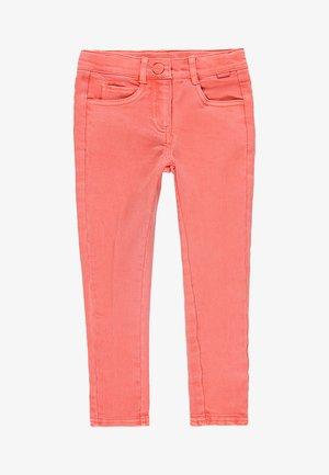 Slim fit jeans - coral