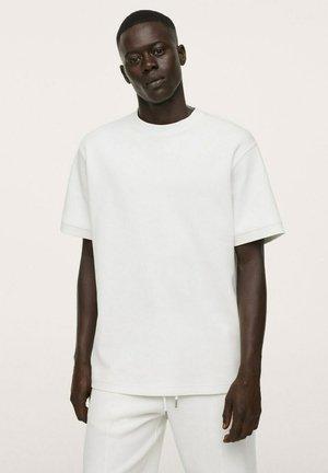 Basic T-shirt - blanco roto