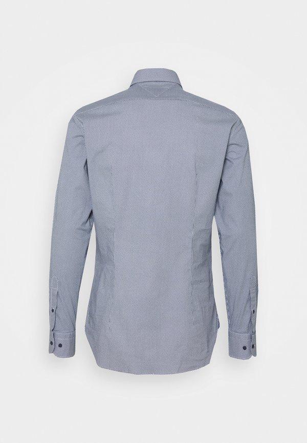 Tommy Hilfiger FLEX MINI GEO PRINT SLIM - Koszula - navy/white/granatowy Odzież Męska QXBV