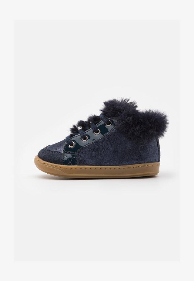 BOUBA ZIP - Baby shoes - navy
