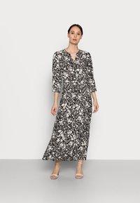 Soyaconcept - SC-PERU 1 - Maxi dress - black combi - 0