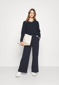 Vero Moda - VMBECCA PANTS  - Trousers - navy blazer - 1