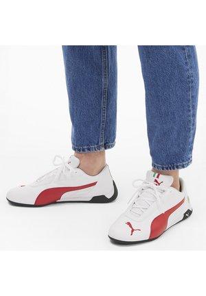 FERRARI R-CAT - Sneakers - puma white-rosso corsa
