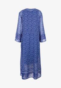 Triangle - Day dress - blue aop - 1