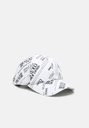 BASEBALL WITH CENTRAL SEWING UNISEX - Cappellino - bianco/nero