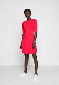 HUGO - SHATHA - Jumper dress - bright red - 1