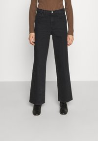 House of Dagmar - ALBA - Jeans a sigaretta - washed black - 0