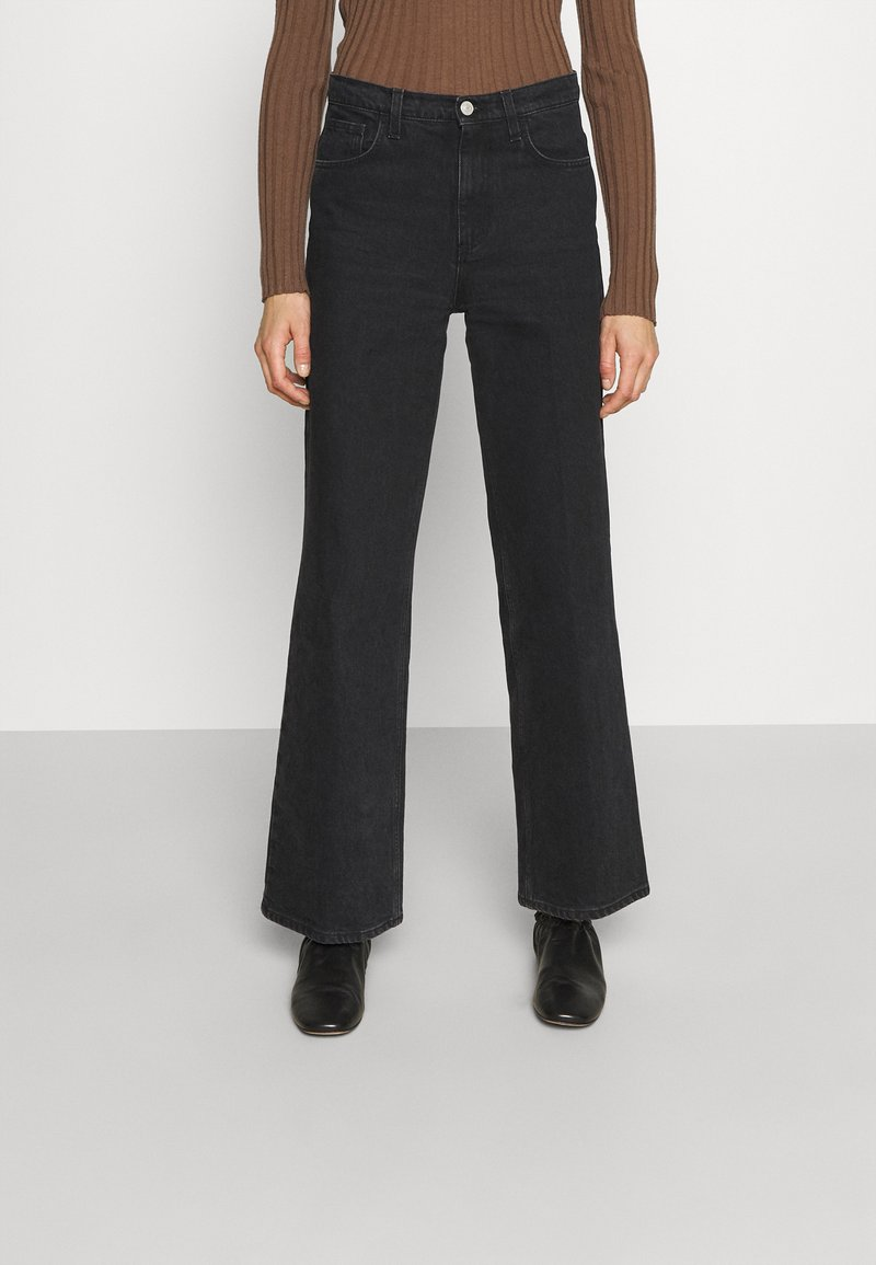 House of Dagmar - ALBA - Jeans a sigaretta - washed black