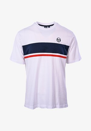 FELUGA  - Print T-shirt - white/navy