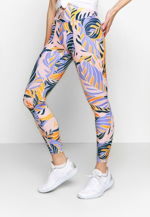 7/8 PSYCH  - Leggings - light thistle/white