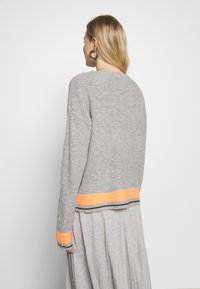 Cartoon - Jumper - grey/orange - 2