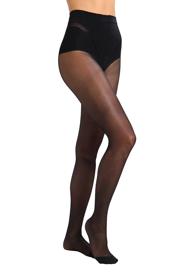 Femme 25 DEN DIAMS VENTRE PLAT      - Collants -  noir