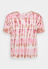 GAP - SHRUNKEN TEE - T-shirt imprimé - pink - 1