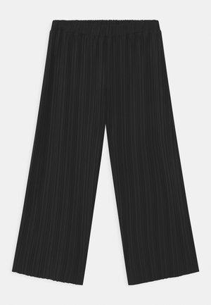 TEEN PAMELA PLISSE - Trousers - black