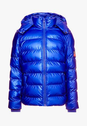 NASA INSIGNIA METALLIC PUFFER JACKET - Winter jacket - blue