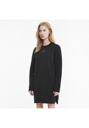 FERRARI - Day dress -  black
