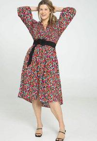 Paprika - Shirt dress - indigo - 1