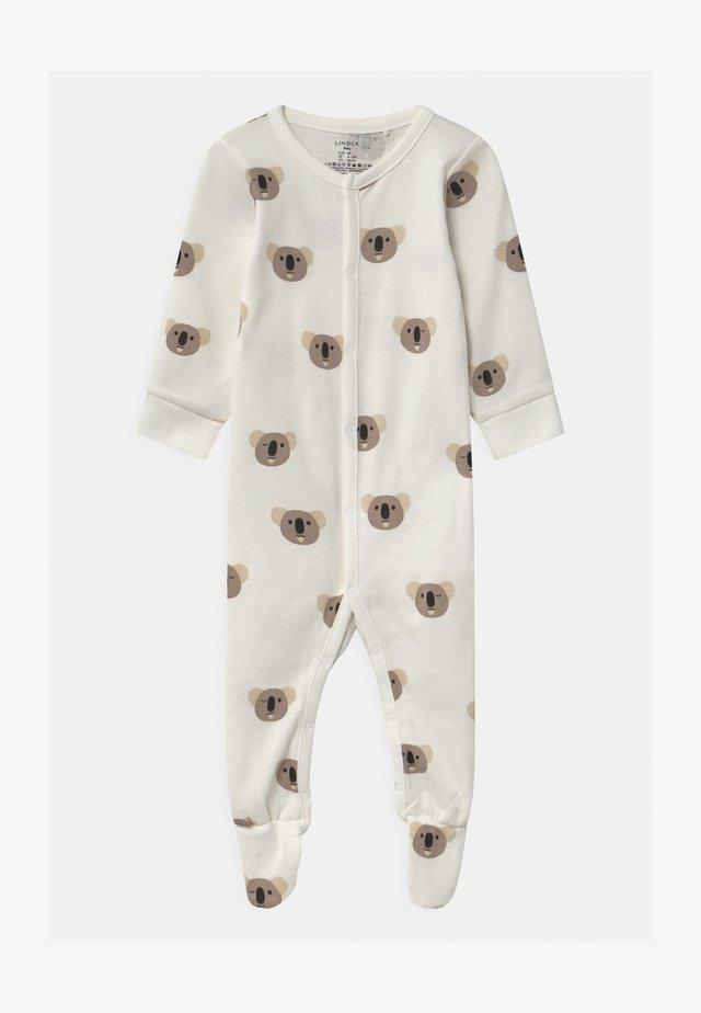 FOOT KOALA UNISEX - Sleep suit - light dusty white