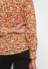 Benetton - Button-down blouse - orange - 6