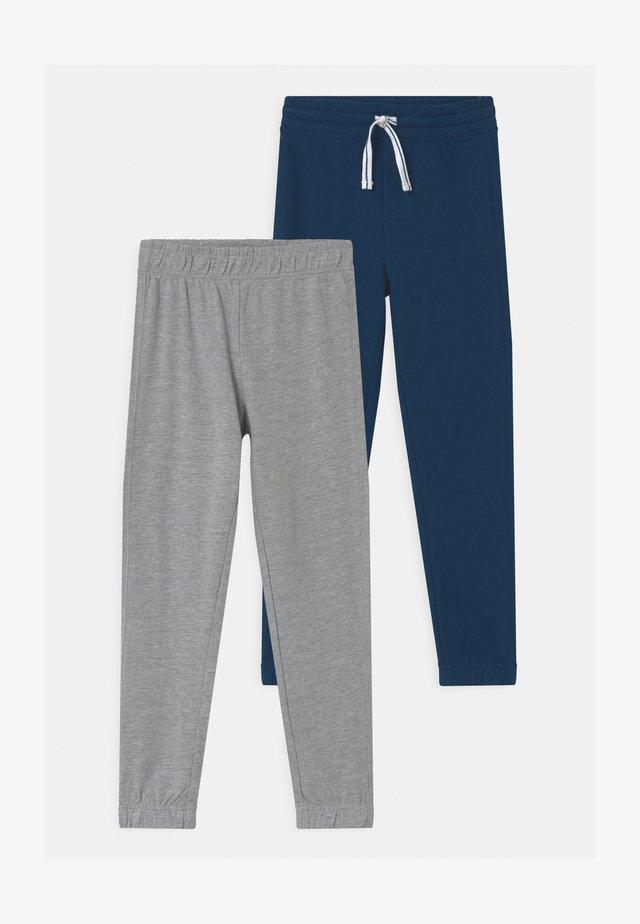 TERRY 2 PACK - Pantalones deportivos - black iris