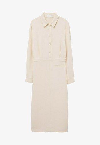 Skjortekjole - blanco roto