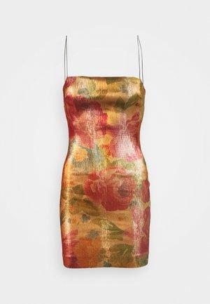 BELLA MINI DRESS - Žerzejové šaty - multicoloured