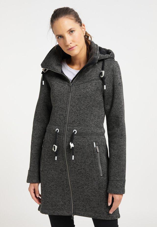 Abrigo corto - dunkelgrau melange
