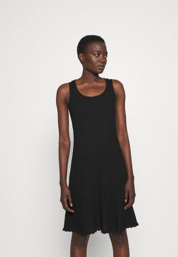 SLEEVELESS DRESS - Jumper dress - black beauty