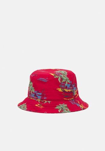 BEACH BUCKET HAT UNISEX - Kapelusz - etna red