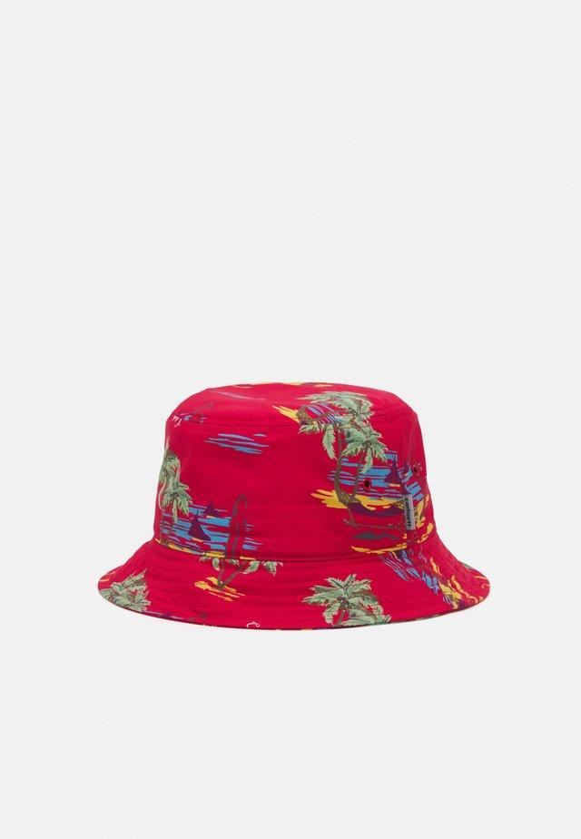 BEACH BUCKET HAT UNISEX - Hoed - etna red