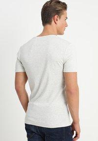 G-Star - DAPLIN - T-shirt print - white heather - 2