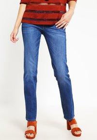 edc by Esprit - Straight leg jeans - blue denim - 0