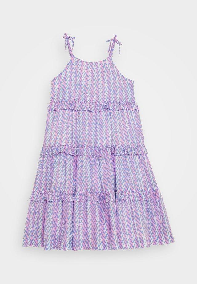 ELISE LONG DRESS - Korte jurk - pink peri