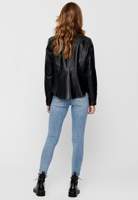 ONLY - Giacca di pelle - black - 2