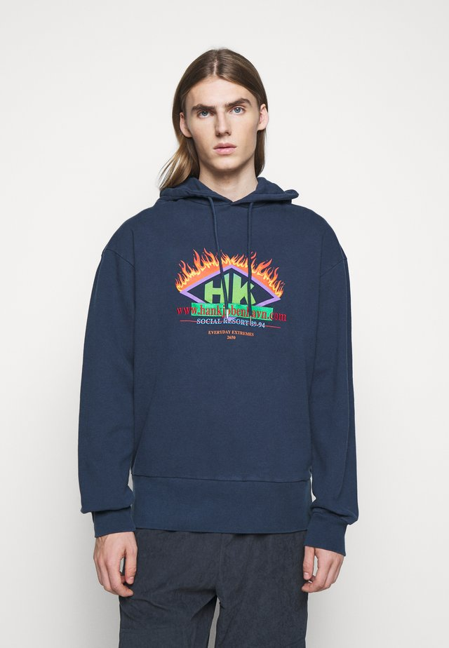 BULKY HOODIE - Sweat à capuche - faded navy