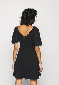 WAL G. - KYLA SKATER DRESS - Day dress - black - 2