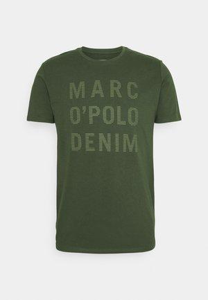 SHORT SLEEVE LOGO - T-shirt z nadrukiem - deep depth