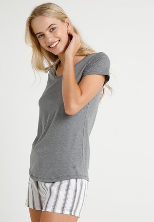 CREW NECK - Pyjama top - grey