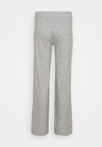 Gina Tricot - KINSLEY TROUSERS - Trousers - grey melange - 1