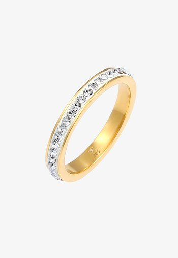 GLASS CRYSTAL   - Ring - gold