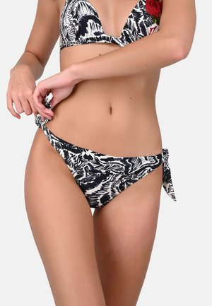 DIVA - Bikini bottoms - Black and White