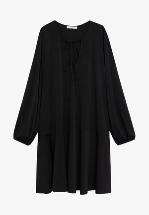 PEAKY - Jumper dress - schwarz